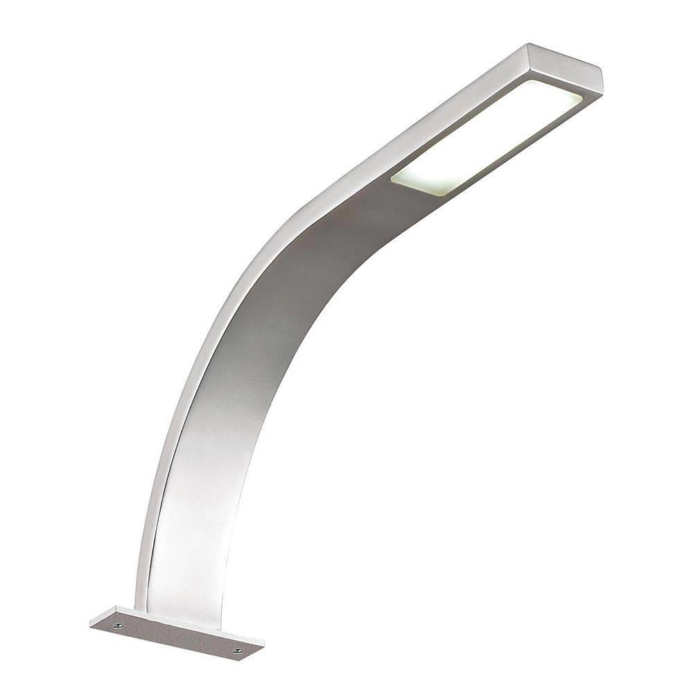 Litecraft Wade 1 Light LED Arm Over Kitchen Cabinet Light - Nickel
