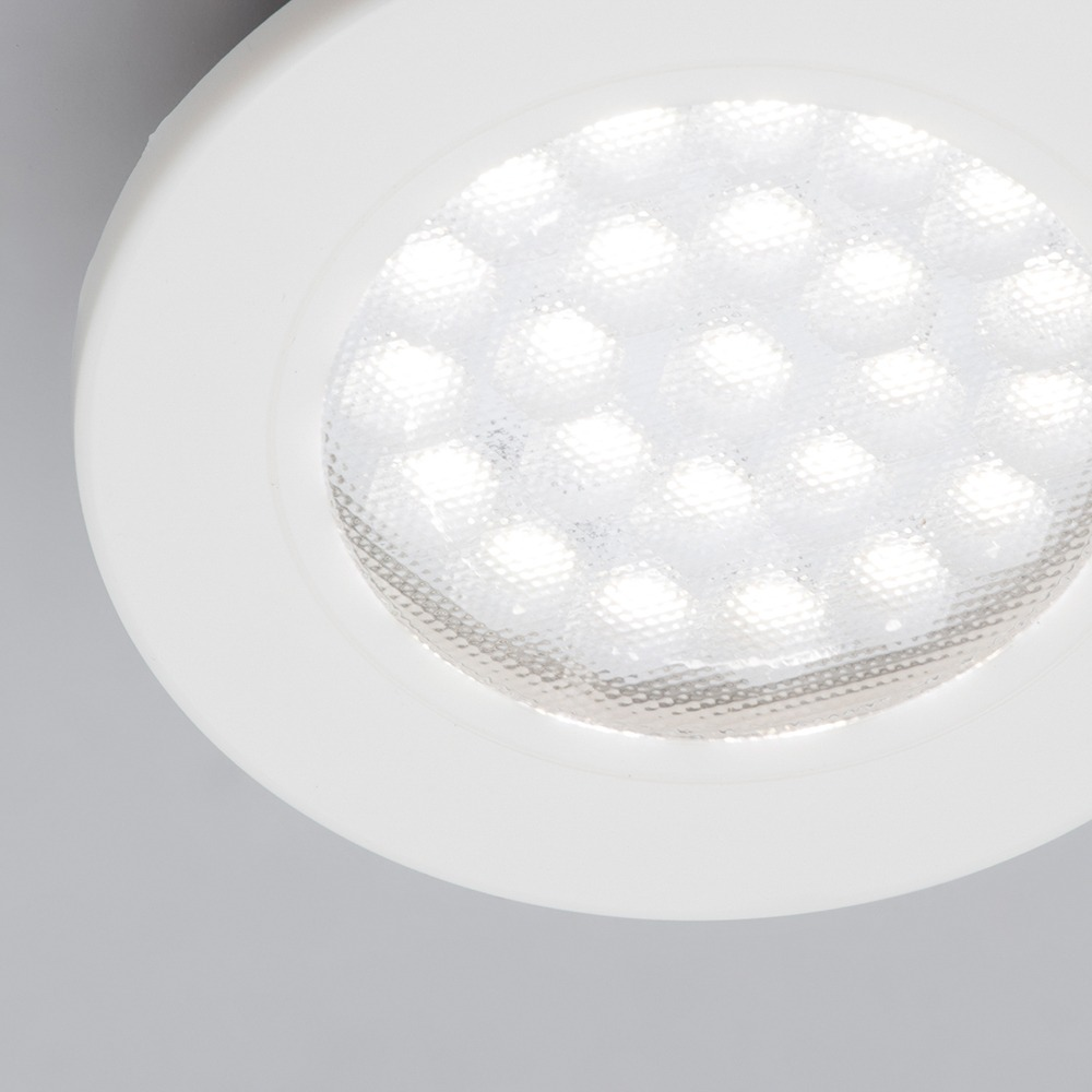 A Guide To Kitchen Lighting From Litecraft: Conwy Kitchen LED Circular Ceiling Recessed Downlight