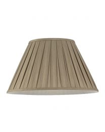 18Inch Enya Box Pleat Easy to Fit Shade - Mink