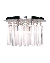 Emily Prism Bar Flush Ceiling Light
