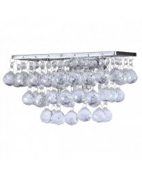 c01-lc1933 GALAXY K9 CRYSTAL WALL LIGHT