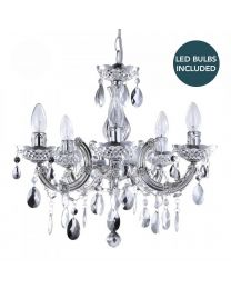 AS-C6-LC1995 DISCOUNTED CHANDELIERS UK LED BUNDLE