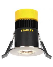 Stanley Narva IP65 Fire Rated Fixed LED Downlighter - Satin Nickel