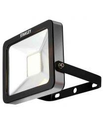 Stanley Zurich Outdoor 20 Watt LED Flood Light - Cool White - Black