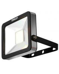 Stanley Zuich Outdoor 30 Watt LED Flood Light - Warm White - Black