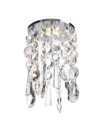 Marquis by Waterford - Bresna LED Crystal Recessed Ceiling Light - Warm White