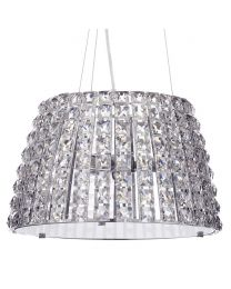 Marquis by Waterford - Moy LED Large Bathroom Ceiling Pendant - Chrome