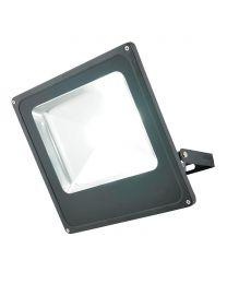 Cordelia Large 1 Light Outdoor LED Slim Line Flood Light - Black