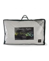 Pair of Overfilled Duck Feather Pillows - White