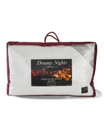 Pair of All Natural Goose Feather Pillows - White