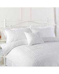 Victoria Cushion Covers - White - 2 Pack