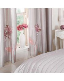 Wish Pair of Curtains - Pink