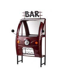 Tuk-Tuk Car Style Bar - Red