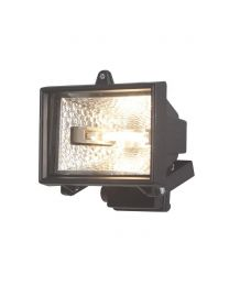 M48 16122 BLACK SECURITY FLOODLIGHT LITECRAFT
