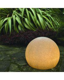 Xantian LED Outdoor Light Up 45cm Ball - Dark Grey