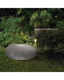 Xantian LED Outdoor Light Up Pebble - Dark Grey