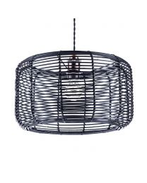 Rattan Easy to Fit Shade - Black