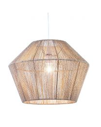 Robbo Rattan Easy to Fit Lamp Shade - Natural