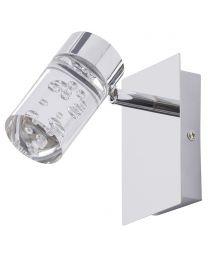 Felix Bathroom LED 1 Light Adjustable Wall Light - Chrome