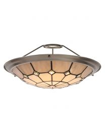 Tiffany by Tiff Easy to Fit Up Lighter Shade - Satin Nickel