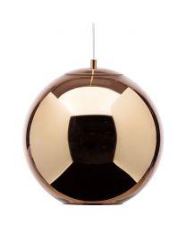 Visconte Small Leo 1 Light Ceiling Pendant - Copper