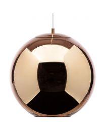Visconte Medium Leo 1 Light Ceiling Pendant - Copper