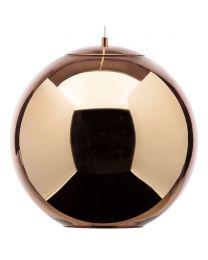 Visconte Large Leo 1 Light Ceiling Pendant - Copper