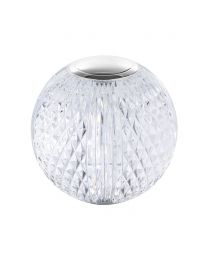 Visconte Tutti Globe Chargeable Table Lamp - Chrome