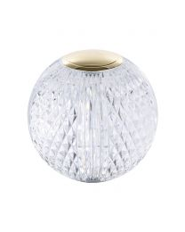 Visconte Tutti Globe Chargeable Table Lamp - Gold