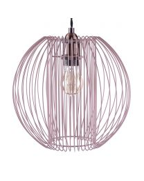 Wire Frame Easy to Fit Shade - Pink