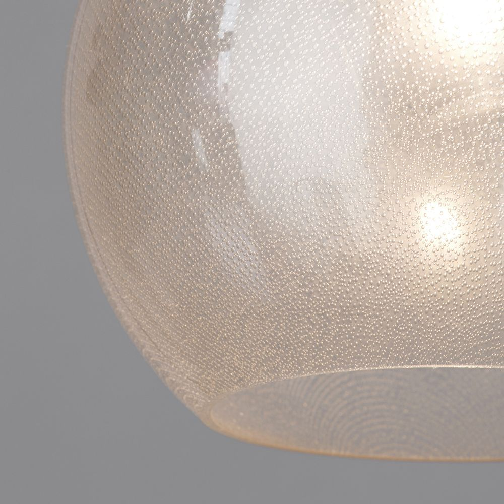 Bubble Effect Glass Lamp Shade