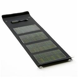 Folding 6.5 Watt Solar Panel with Accessory Pack