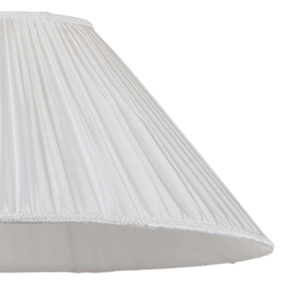 18 Inch Pleated Easy To Fit Shade Cream From Litecraft
