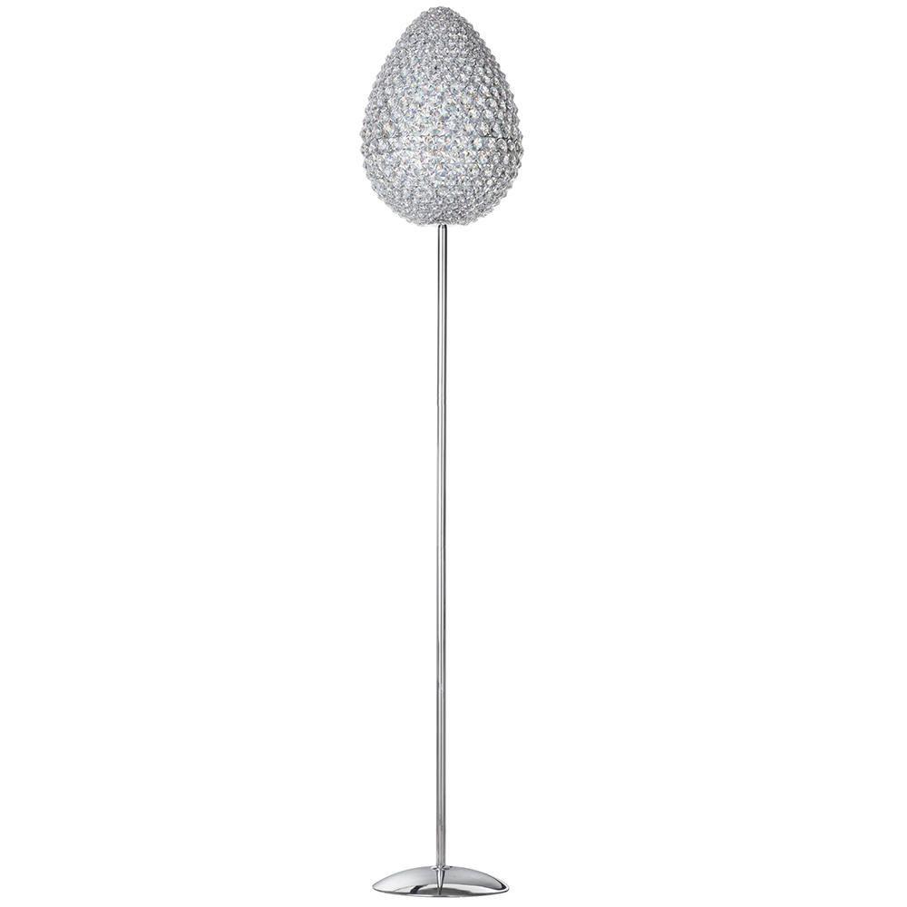 Teggle 4 Light Floor Lamp Chrome