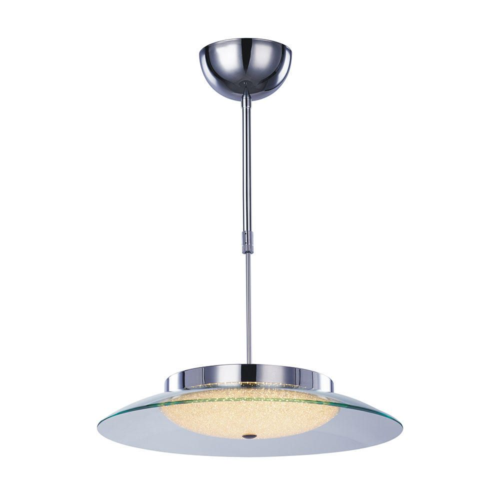 Quartz Semi Flush Ceiling Pendant Light