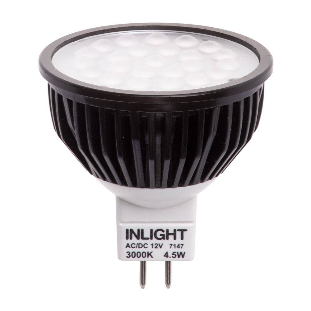 4 5 watt mr16 led light bulb warm white from litecraft. Black Bedroom Furniture Sets. Home Design Ideas