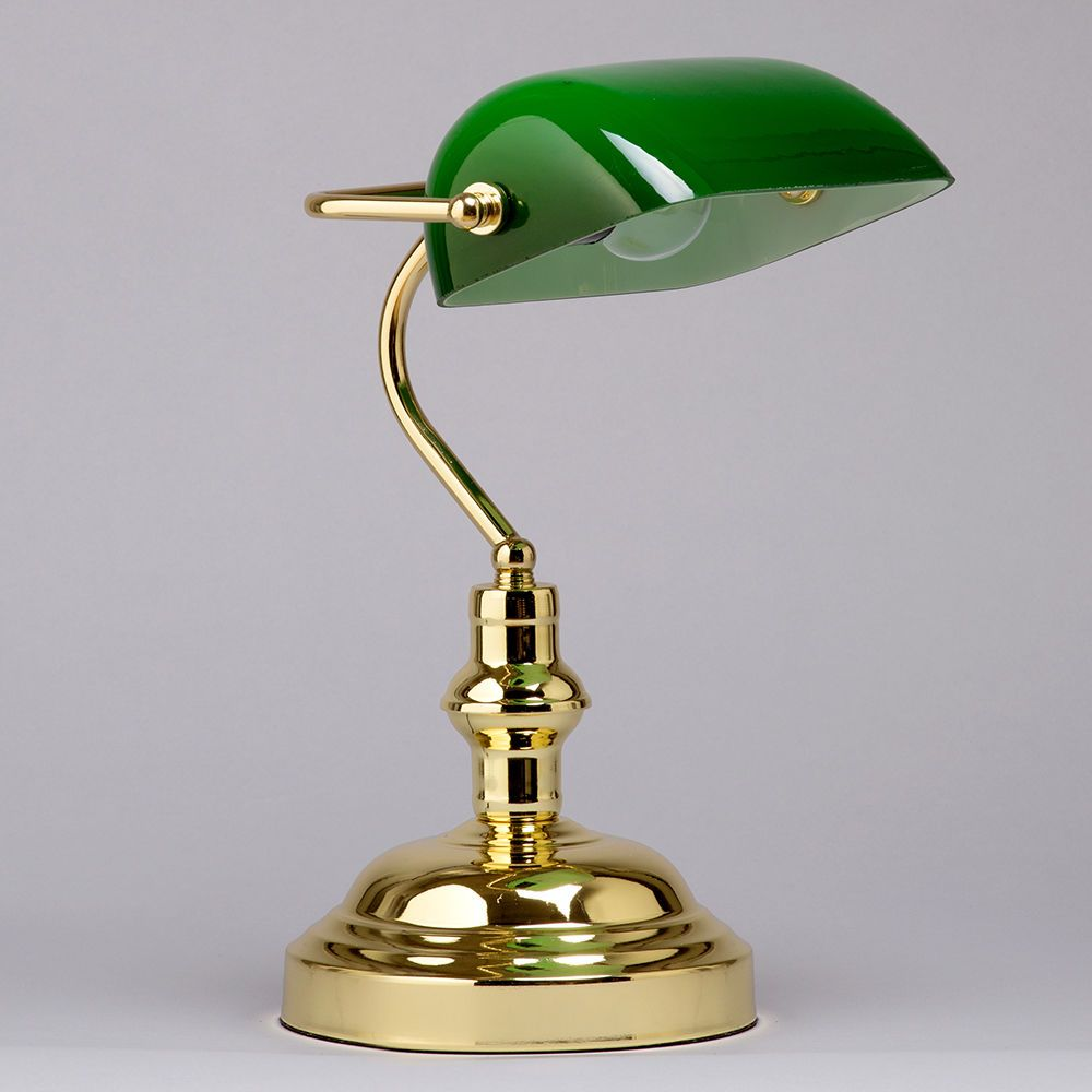 Bankers Lamp As Seen On Tv Green Gold Office Lamp