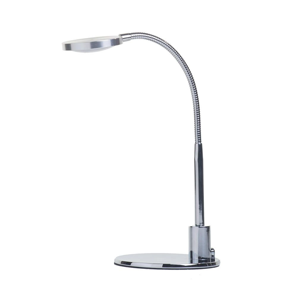 LED Discus Task Lamp  3 Watt  Chrome