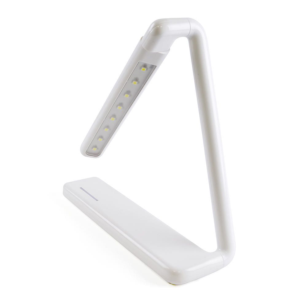 Litecraft Zagros Rechargeable Touch Sensitive Task Lamp - White