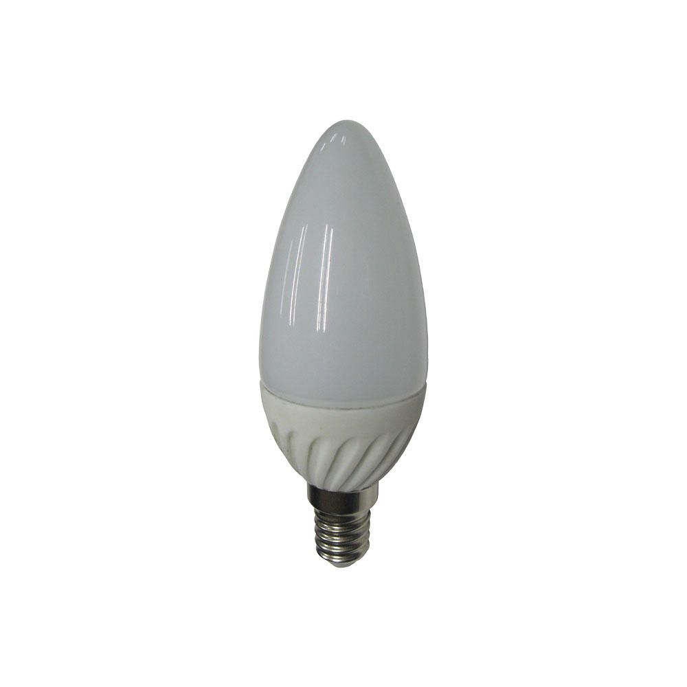 4 Watt E14 Small Edison Screw LED Candle Light Bulb  Cool White