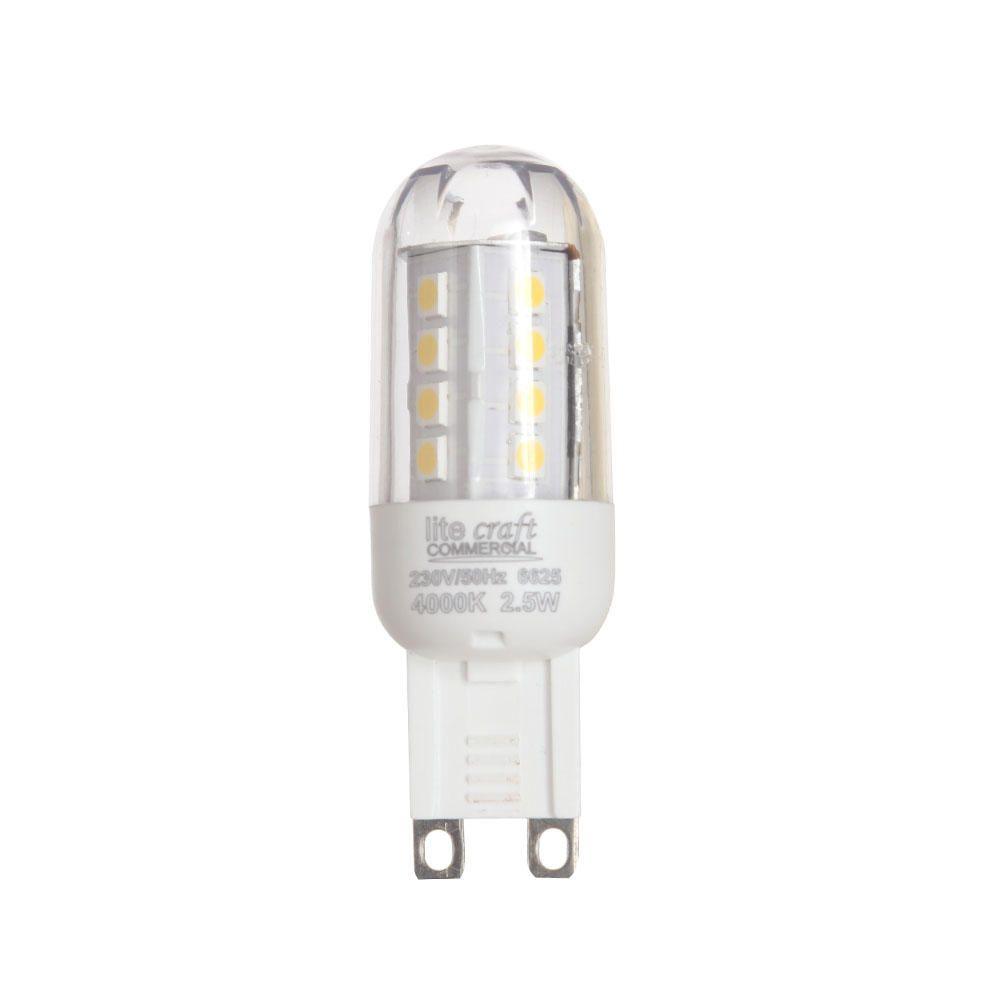 Litecraft G9 LED Capsule Light Bulb 2.5 Watt - Warm White