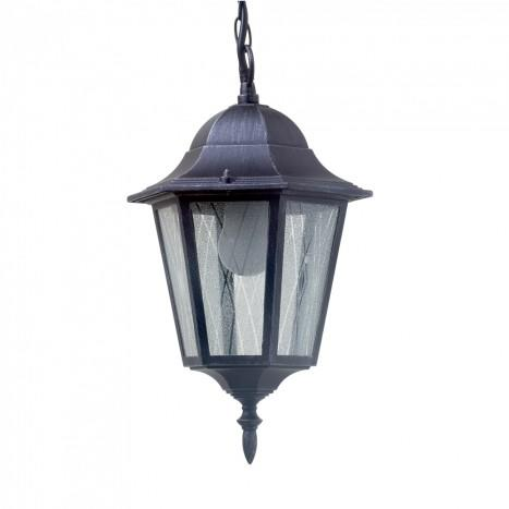 Outdoor 1 Light Hanging Lantern  Black