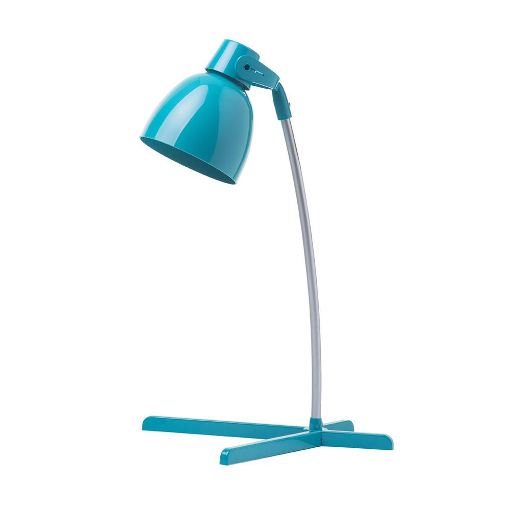 Timmy Childrens Table Lamp  1 Light  Teal
