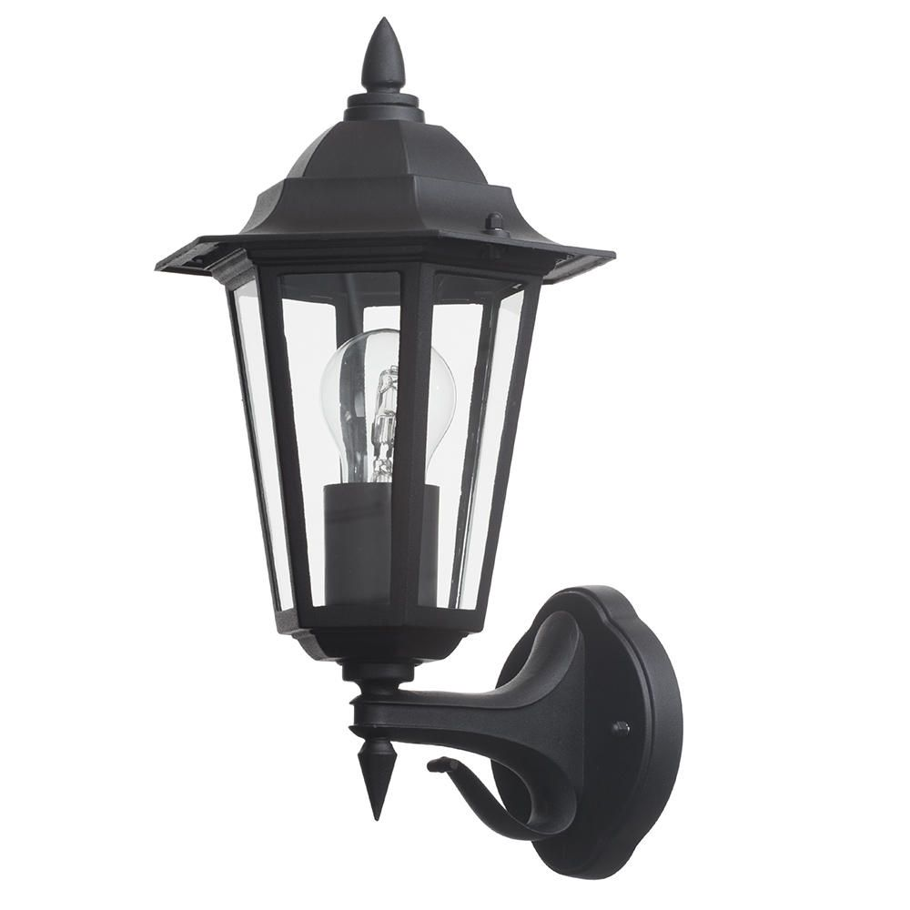 M14 15120 30 15 Outdoor Black Traditional Lantern Wall Ligh FASTFREE DELIVERY