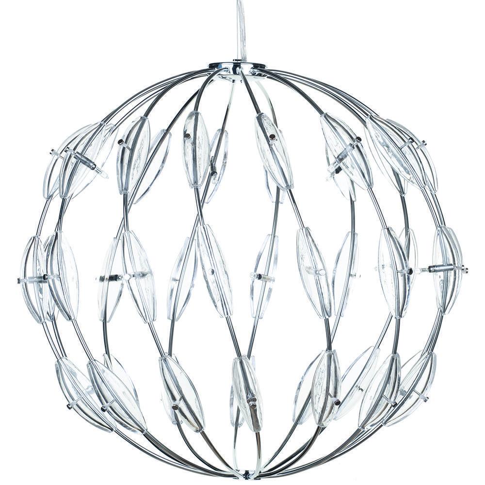Core 14 Light Ball Ceiling Pendant - Chrome | Litecraft