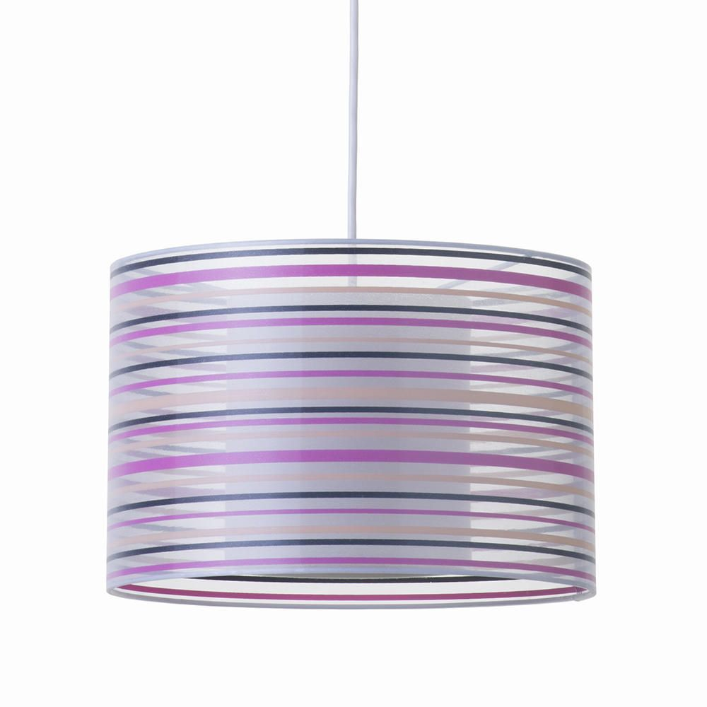 Litecraft Balfour Striped Pendant Shade Ceiling Light