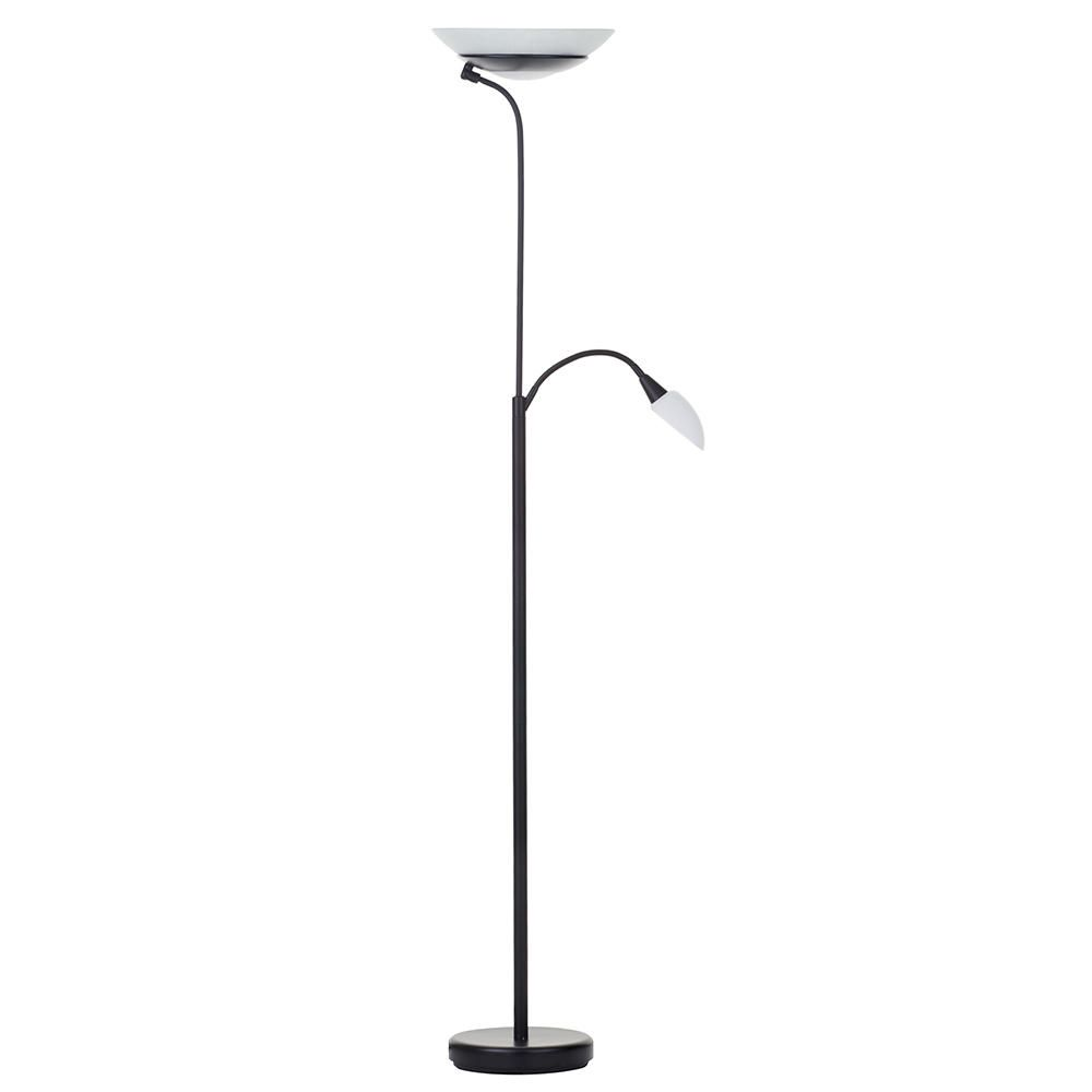 Modern mother child 2 light floor lamp black from litecraft child floor lamp matte black fastfree delivery mozeypictures Gallery