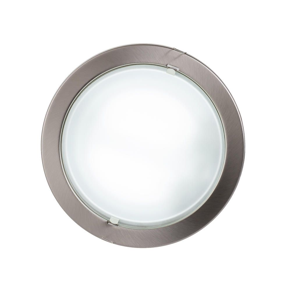 Round Recessed Ceiling Light Satin Chrome From Litecraft