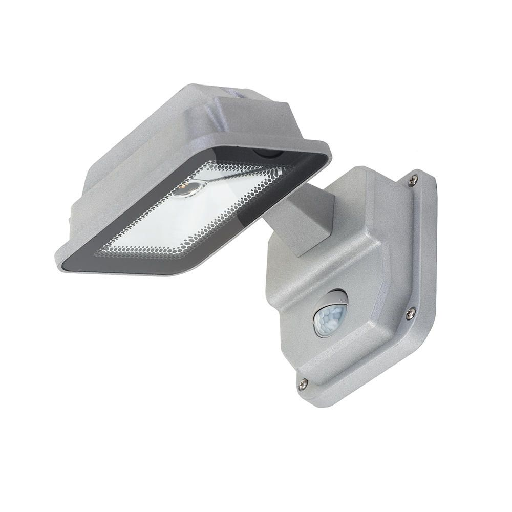 Led Outside Wall Lights With Pir : Philips Oviedo Outdoor LED Wall Lantern with PIR Sensor - Aluminium