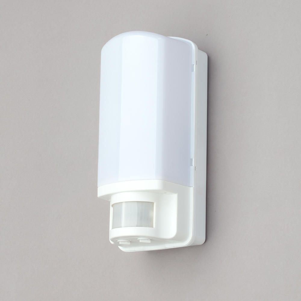 Philips Dakar Outdoor Lantern Wall Light with Security Sensor - White from Litecraft
